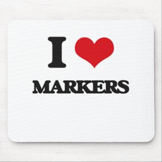 I Love Markers Mousepad