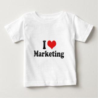 I Love Marketing Baby T-Shirt