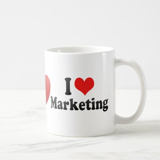 I Love Marketing Coffee Mug