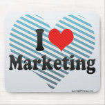 I Love Marketing Mouse Pad