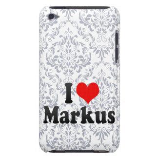I love Markus iPod Case-Mate Case