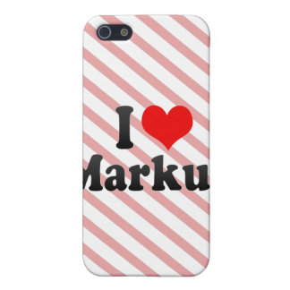 I love Markus Cases For iPhone 5