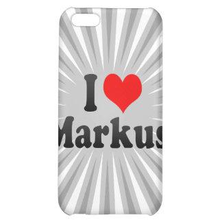 I love Markus iPhone 5C Cases