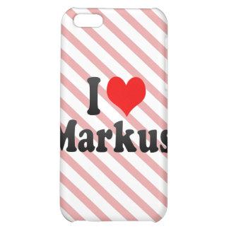 I love Markus iPhone 5C Cover