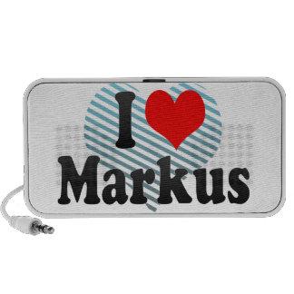 I love Markus iPhone Speaker