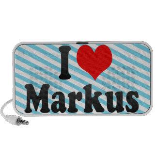 I love Markus Mp3 Speakers