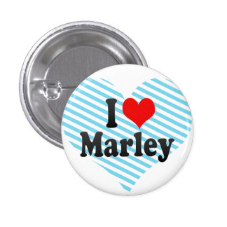 I love Marley Button