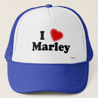 I Love Marley Trucker Hat
