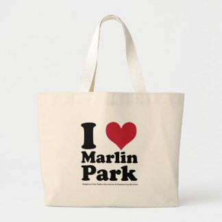 I LOVE Marlin Park Tote Bags