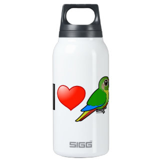I Love Maroon-bellied Conures Thermos Bottle