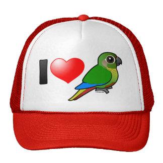 I Love Maroon-bellied Conures Trucker Hat