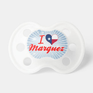 I Love Marquez, Texas Baby Pacifier