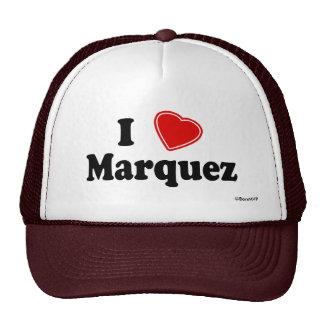 I Love Marquez Trucker Hat