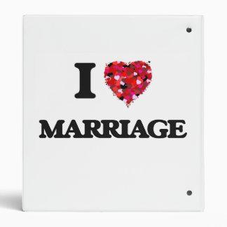I Love Marriage Binder