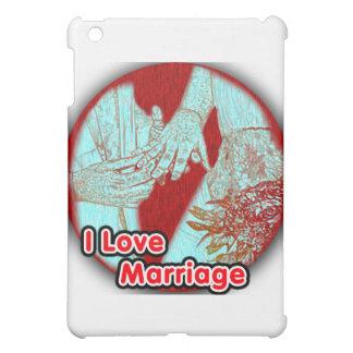 I Love Marriage Engaged iPad Mini Cover