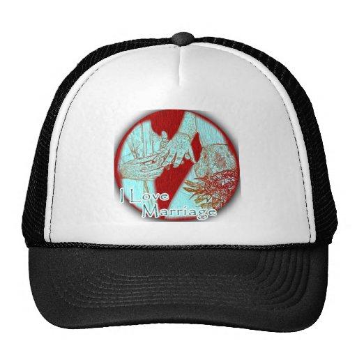I Love Marriage Love Hats