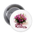 I Love Marriage Matrimony Button