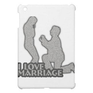 I Love Marriage Will You Marry Me Cover For The iPad Mini