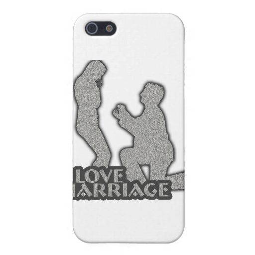 I Love Marriage Will You Marry Me? iPhone 5 Covers