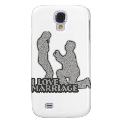 I Love Marriage Will You Marry Me? Samsung Galaxy S4 Covers