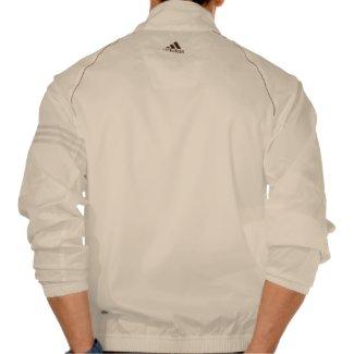 I Love Mars Adidas Zip Jacket