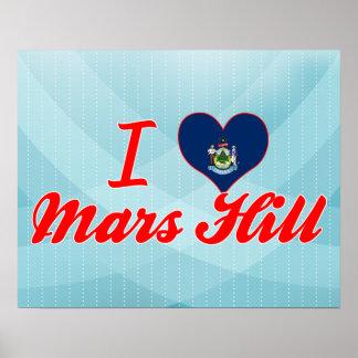 I Love Mars Hill, Maine Print