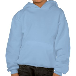 I Love Mars Hooded Sweatshirt for Kids