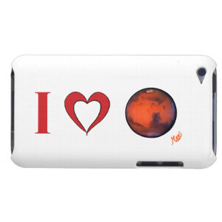 I Love Mars iPod Touch Case