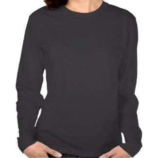 I Love Mars - Long Sleeved Ladies Jersey T-Shirt