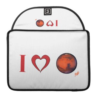 I Love Mars MacBook Pro Case