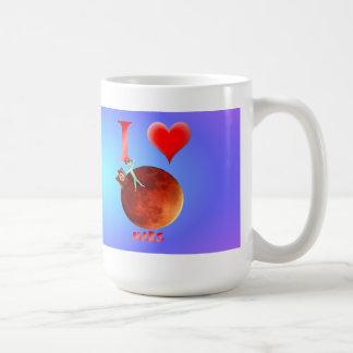 I Love Mars Mugs