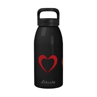 I Love Mars Water Bottle