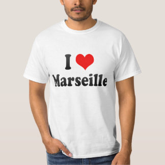 I Love Marseille, France T-Shirt