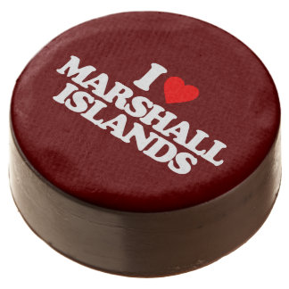 I LOVE MARSHALL ISLANDS CHOCOLATE DIPPED OREO