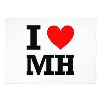 I Love Marshall Islands Design Card