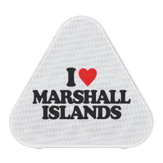 I LOVE MARSHALL ISLANDS BLUETOOTH SPEAKER