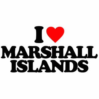 I LOVE MARSHALL ISLANDS CUT OUTS