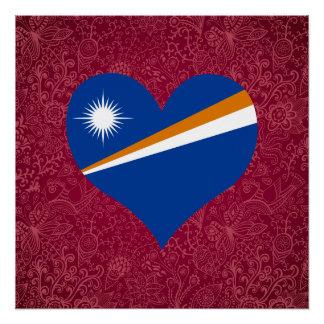 I Love Marshall+Islands Poster