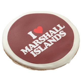 I LOVE MARSHALL ISLANDS SUGAR COOKIE