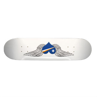 I Love Marshall Islands -wings Skate Boards