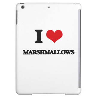 I Love Marshmallows Cover For iPad Air