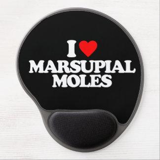 I LOVE MARSUPIAL MOLES GEL MOUSE MAT