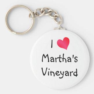 I Love Martha's Vineyard Key Chain