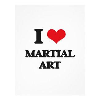 I Love Martial Art Flyer