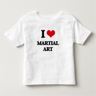 I Love Martial Art Tee Shirt