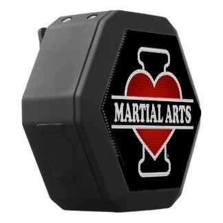 I Love Martial Arts Black Bluetooth Speaker