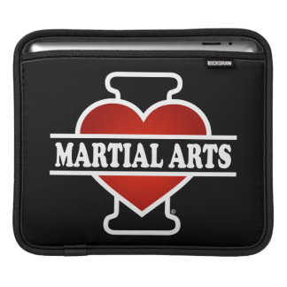 I Love Martial Arts Sleeve For iPads