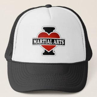 I Love Martial Arts Trucker Hat
