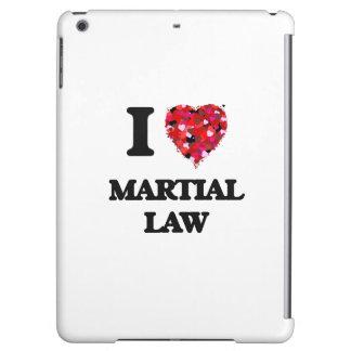 I Love Martial Law iPad Air Case