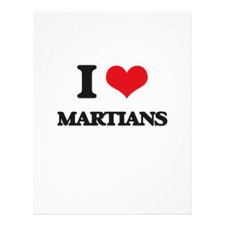 I Love Martians Flyers